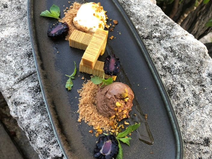 #Special menu dessert Fort Nassau